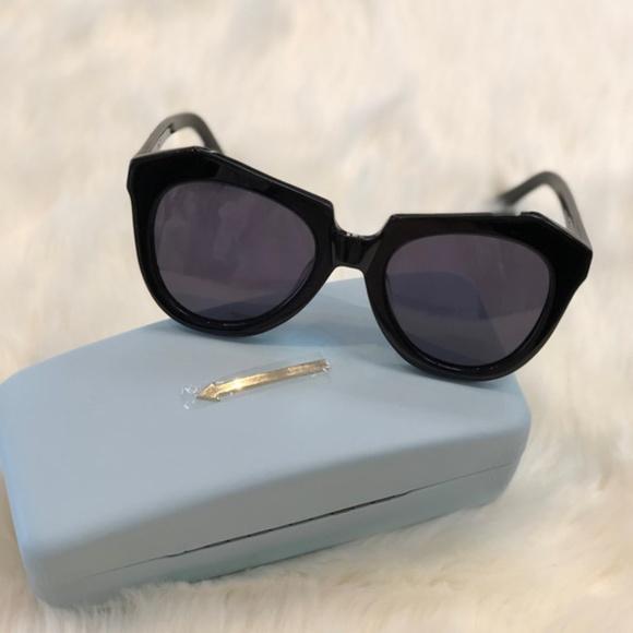 880234151c9c Karen Walker Black Sunglasses Number One Womens
